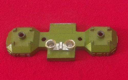 Dinky Toys 359 - Original - Space 1999 Eagle Transporter Green rear lower section with Chrome boosters